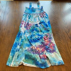 3/$15 Justice long summer dress size 7